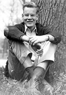 Al Bartlett by tree, year unknown